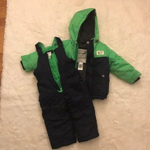 Carter's boys jacket and snow pants set